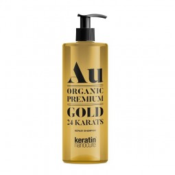 Keratin Nanocure® Au Gold 24ct Shampoo 500ml