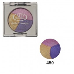 MD Professionnel Baked Range Wet and Dry Triple Eyeshadow 450