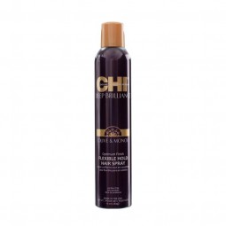 Chi Deep Brilliance Olive & Monoi Optimum Finish Flexible Hold Hair Spray 284g
