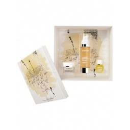 Darphin Paris Set Lumier Essentielle Serum Huile 30ml,Gel Creme Huile 5ml,Aromatic Care 4ml