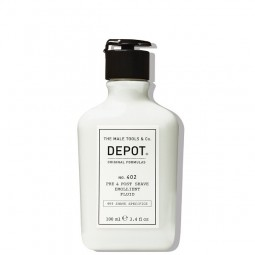 Depot Pre & Post Shave Emollient Fluid 100ml