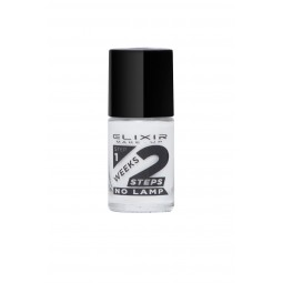 Elixir 2Weeks Nail Polish 836 No701 White 11ml