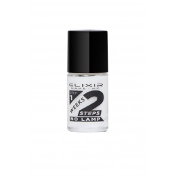 Elixir 2Weeks Nail Polish 836 No702 Milky White 11ml