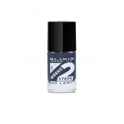 Elixir 2Weeks Nail Polish 836 No772 Charcoal 11ml