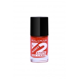 Elixir 2Weeks Nail Polish 836 No784 Carmine Pink 11ml