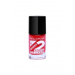 Elixir 2Weeks Nail Polish 836 No785 Poppy Red 11ml