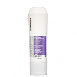 Goldwell Dualsenses Blondes & Highlights Anti-Brassiness Conditioner 200ml