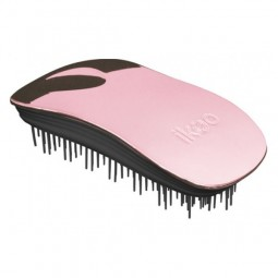 ikoo Metallic Rose Black Brush