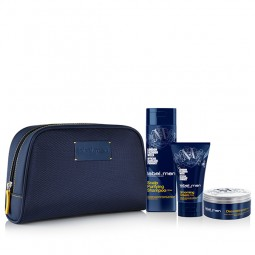 Label.m 3 Step Grooming Kit (Σαμπουάν 250ml, Κρέμα Styling 150ml, Deconstructor 50ml & ΔΩΡΟ Νεσεσέρ)