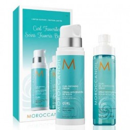 Moroccanoil Curl Favorites Limited Edition (Curl Defining Cream 250ml, Curl Re-Energizing Spray 160ml)