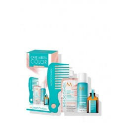Moroccanoil Care Meets Color  Rose Gold Kit