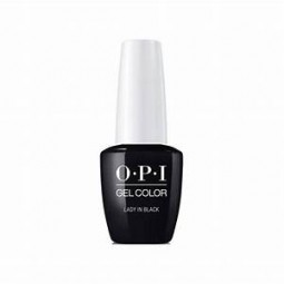 Opi Gel Color T02EUA Lady In Black 15ml