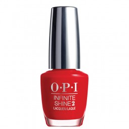 OPI Infinite Shine Unequivocally Crimson 15ml