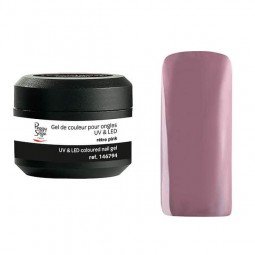 Coloured UV&LED nail gel rétro pink  5 gr