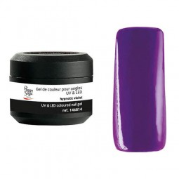 Coloured UV&LED nail gel hypnotic violet 5 gr