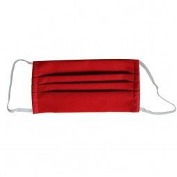 Qure Be Safe Non woven 2 Layers Red - Επανα-Χρησιμοποιούμενη Μάσκα Προστασίας Προσώπου