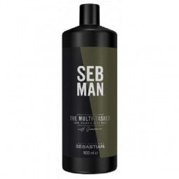 Sebastian Professional  Seb Man The Multi-Tasker 3in1 Hair, Beard & Body Wash 1000ml