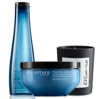 Shu Uemura Muroto Volume Candle Set ( Muroto Volume Shampoo 300ml ,  Muroto Volume Masque 200ml)