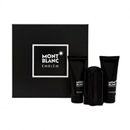 MontBlank Legent Emblem Eau De Toilet 100ml+After Shave Balm100ml+Shower Gel 100ml