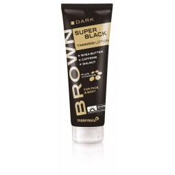 TannyMaxx Dark Super Black Tanning Lotion for Face and Body 125ml